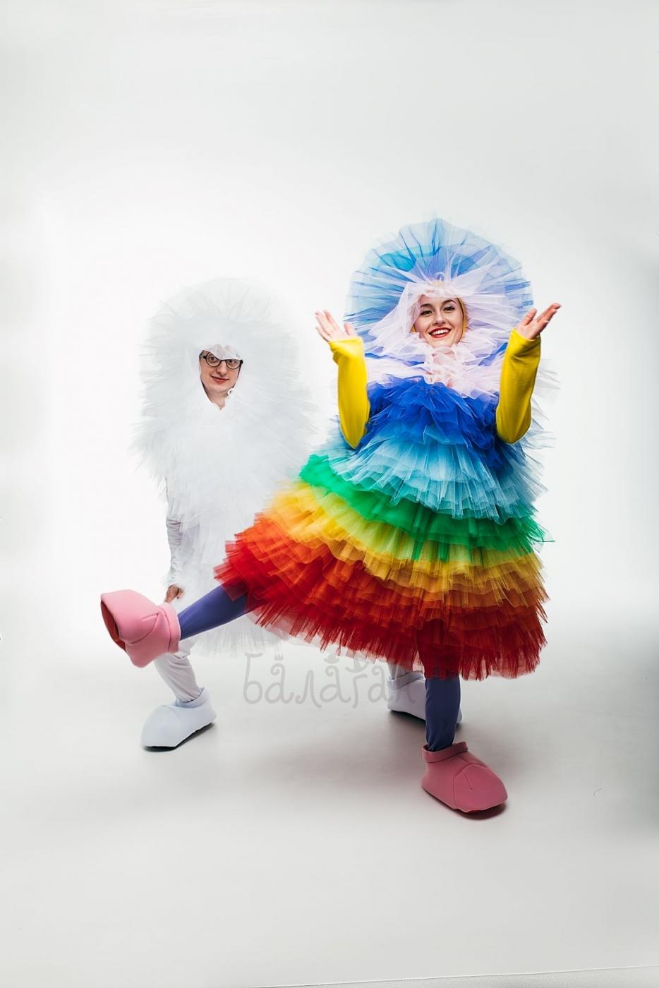 Костюм Фьека разноцветный