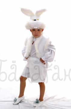Hare animals collection costume for a little boy