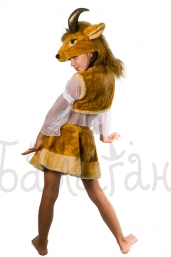 Kids party Goat dress costume for little girl