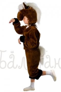 The horse costume for little boy animal collection