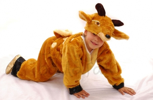 Deer animals collection costume for a little boy