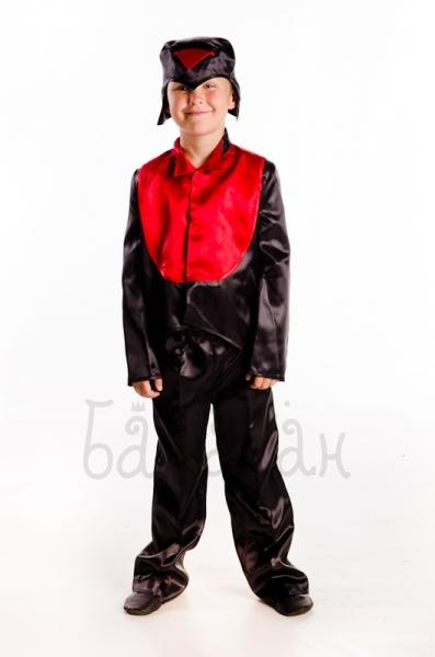 Bullfinch winter birds collection costume for a little boy