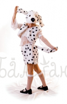 Костюм собаки - далматинца