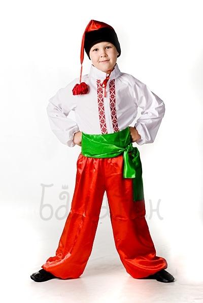 Костюм украинца для мальчика