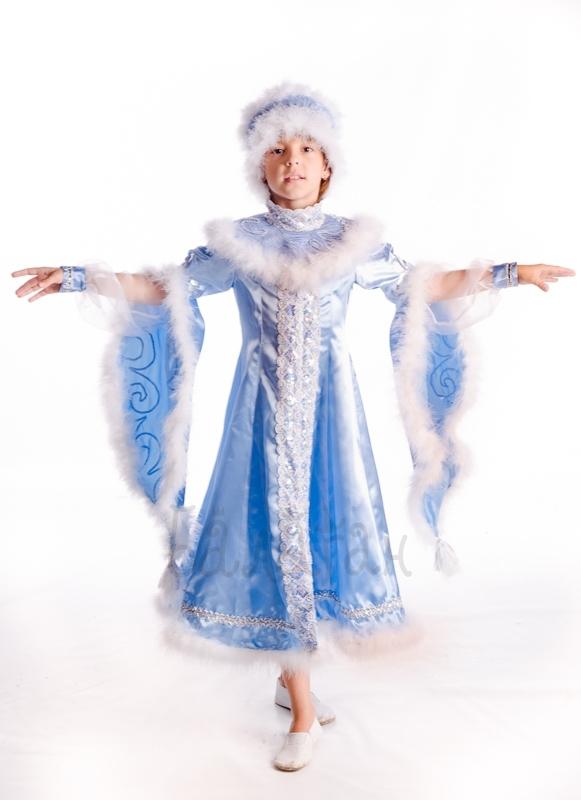 Костюм зимы для девочки