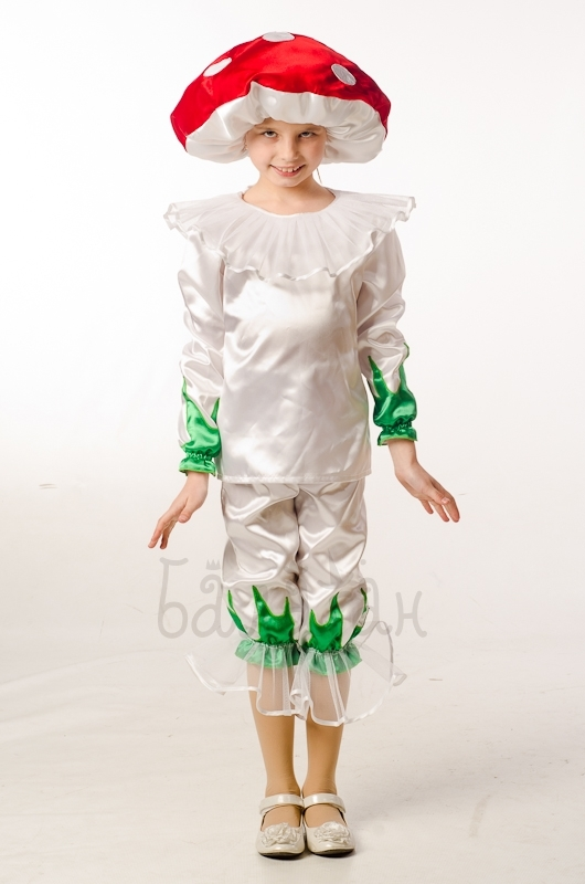 Amanita Mushroom costume for a little boy