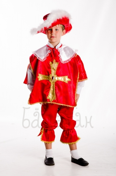 Guardsman warrior costume for a little boy