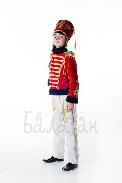Новогодний костюм гусара для мальчика своими руками фото