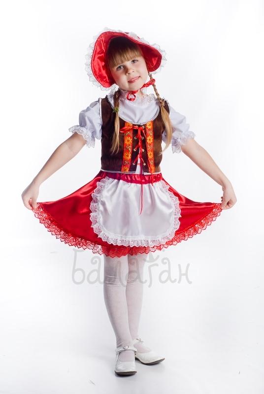 Костюм Красной Шапочки для девочки