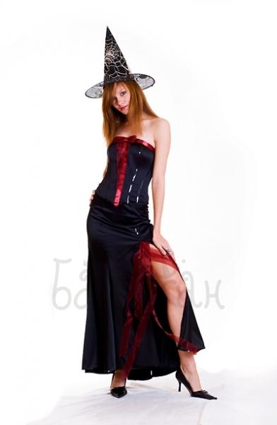Костюм ведьмы женский