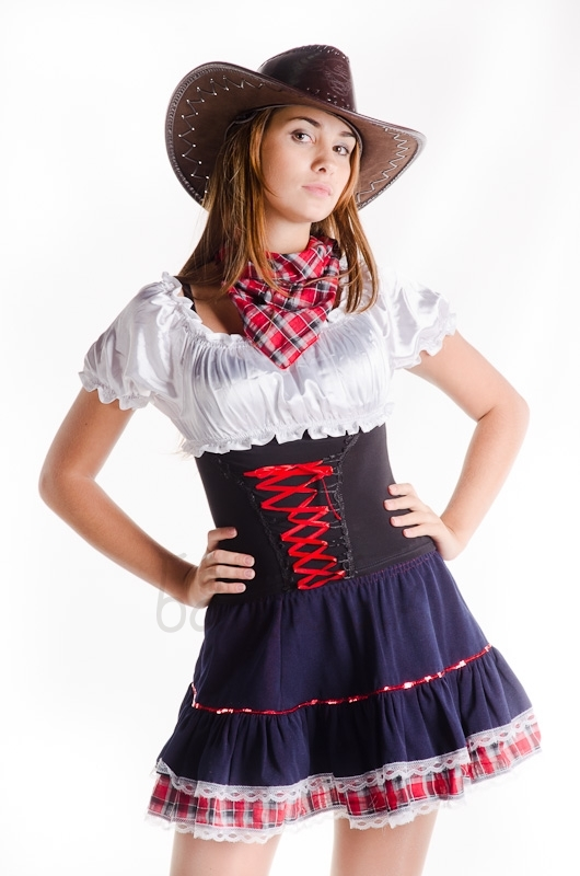 Cheerful Cowboy costume for woman