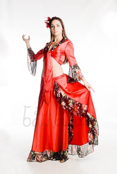 Gypsy national costume for woman