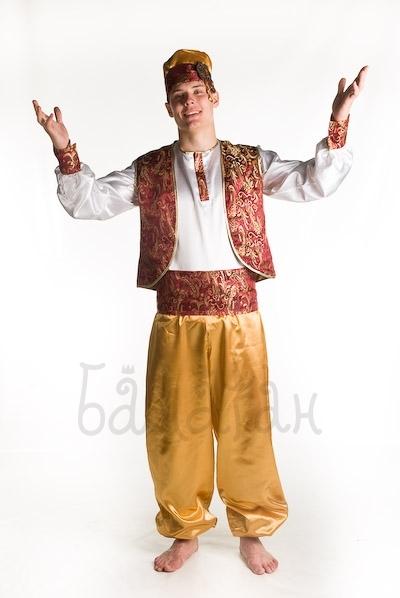 Новогодний костюм своими руками султана