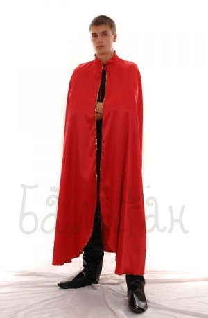 Carnaval cloak costume for man