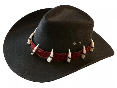 Детская ковбойская шляпа с клыками
