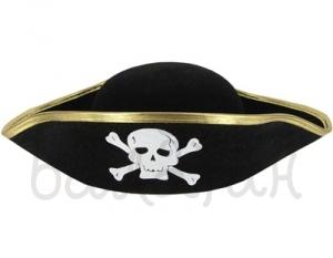 Треуголка пирата детская