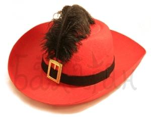 Musketeer's hat headpiece Accessories
