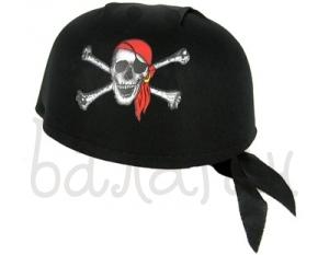 Шляпа пирата с косынкой