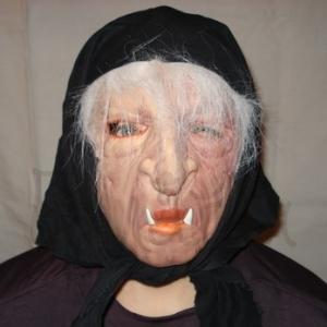 Mask of Baba Yaga Halloween style Accessories
