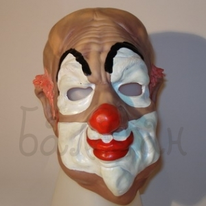 Mask of clown Halloween style Accessories