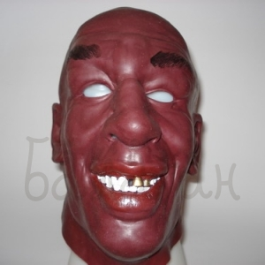 Mask of boxer Tyson Halloween style Accessories