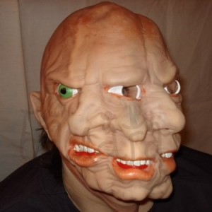Mask of triple face Halloween style Accessories