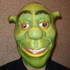 Mask of Shrek Halloween style Accessories