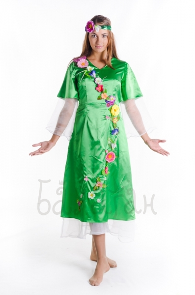 Spring princess costume for woman