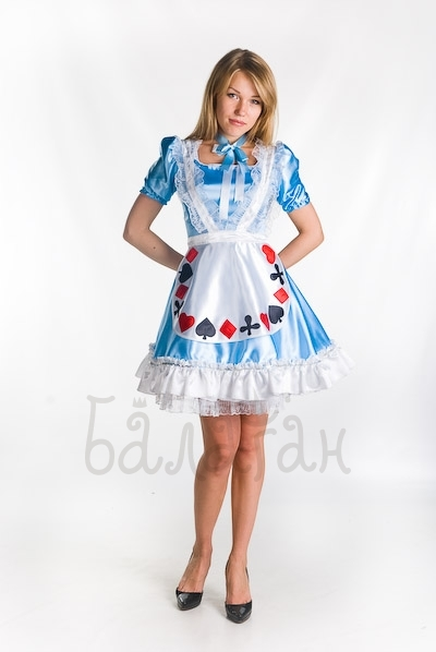 Alice in Wonderland Disney costume for woman