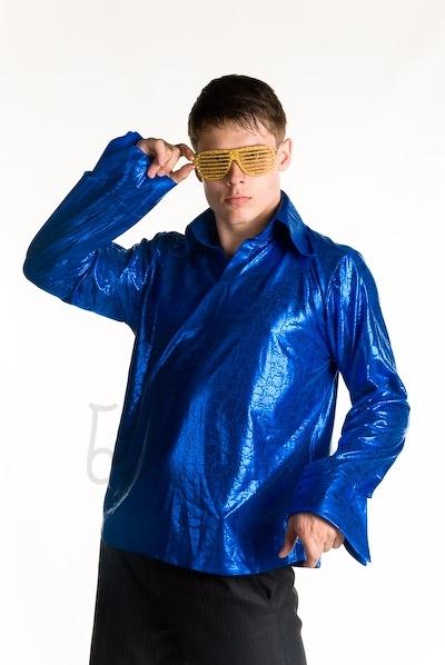 Рубашка в стиле диско