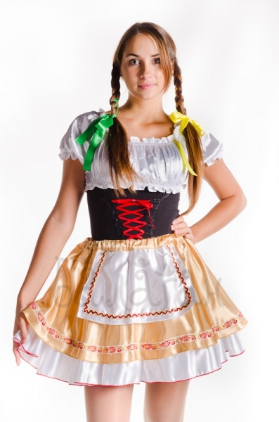 Bavarian costume sexy style short dress costume for woman