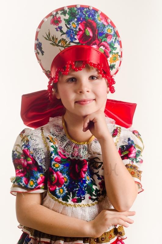 """Костюм """"Кадриль"""" для девочки"""