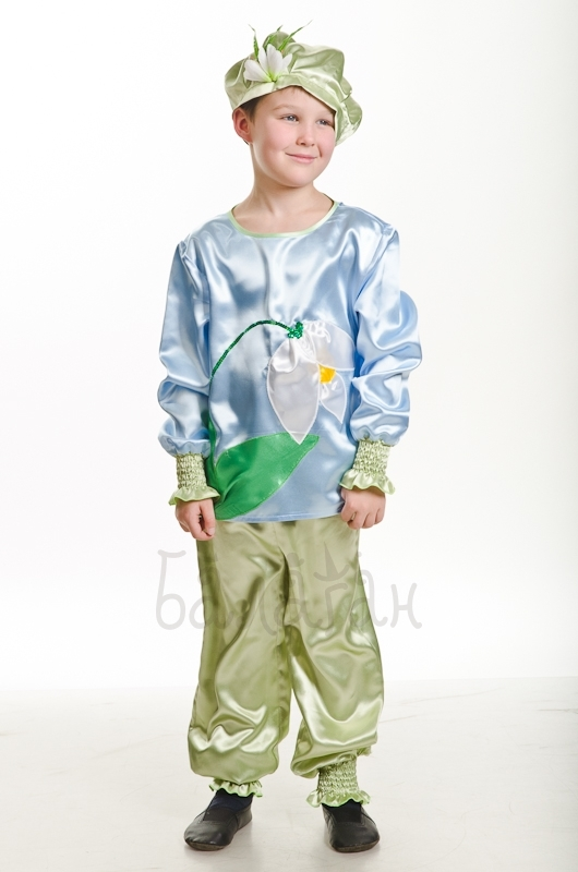 Костюм цветка для мальчика своими руками фото 809