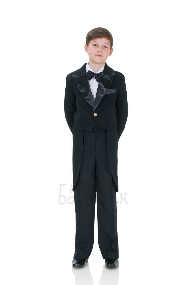 Black tailcoat for little boy