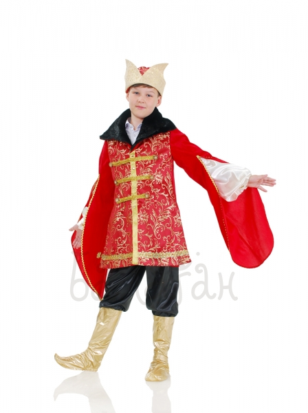 Russian fairytale Ivan Tsarevich costume for a little boy