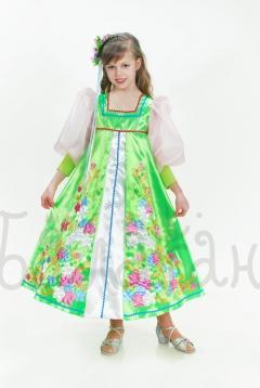 Костюм весны цветущей для девочки