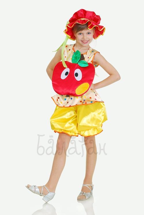 Костюм красного яблока