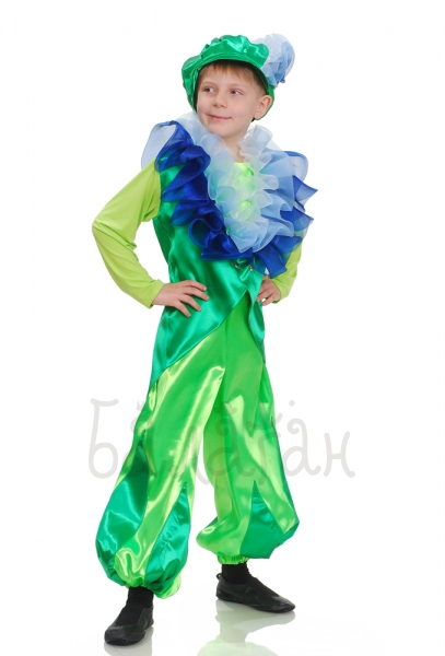 Flower-de-lis flower collection costume for little boy