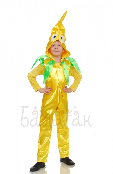 Banana fruit collection costume for little boy