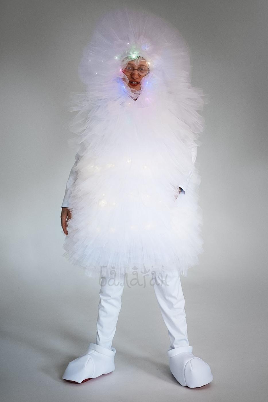 Костюм Фьека белый светящийся