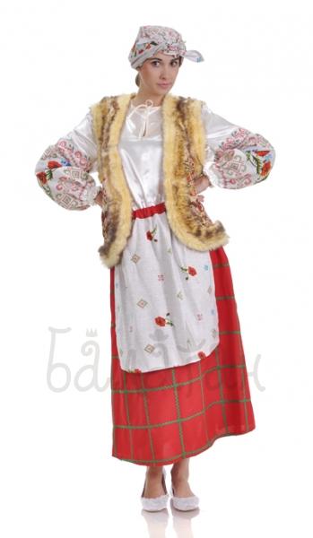 Костюм украинский с жилеткой
