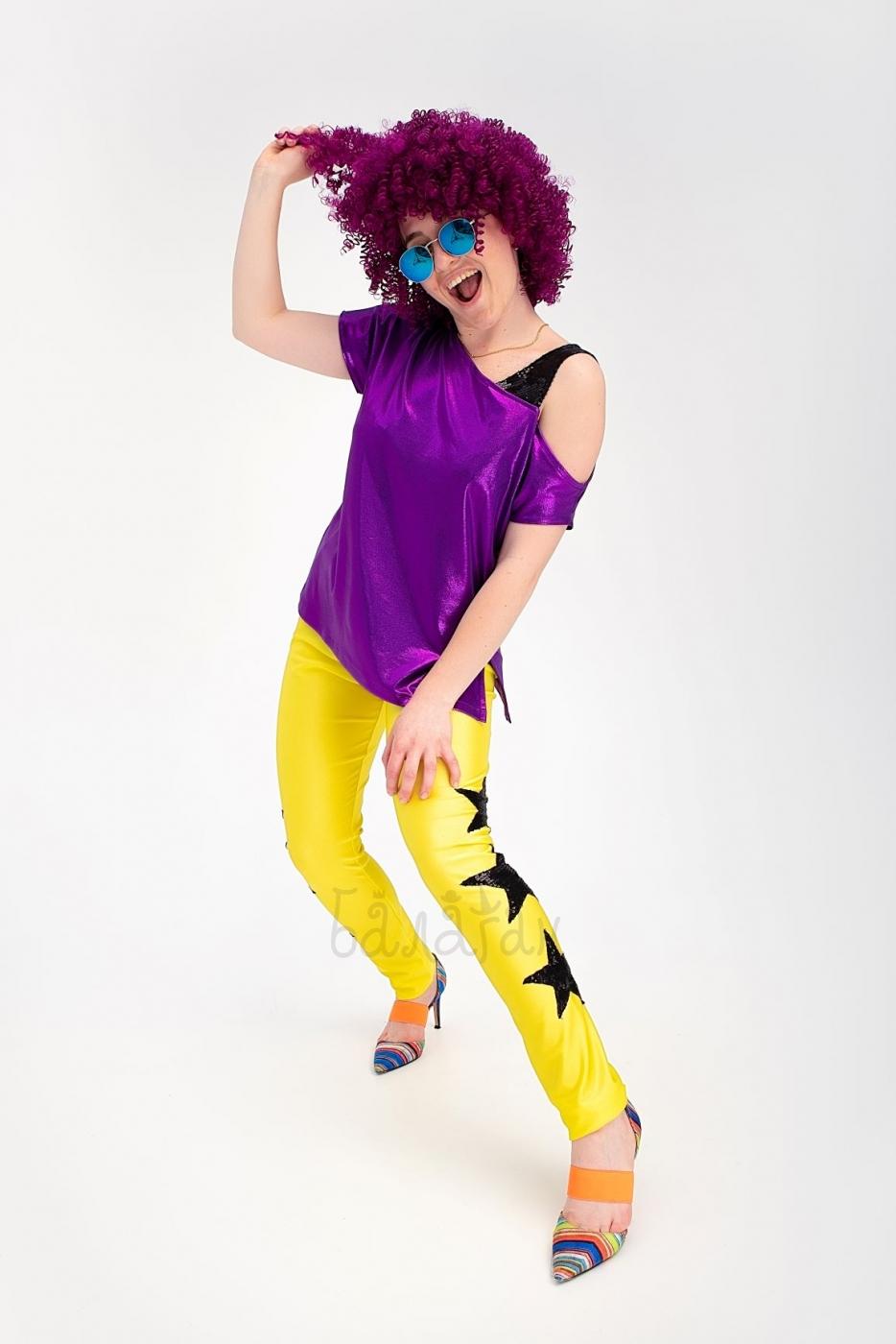 Костюм дискотека 80-х женский