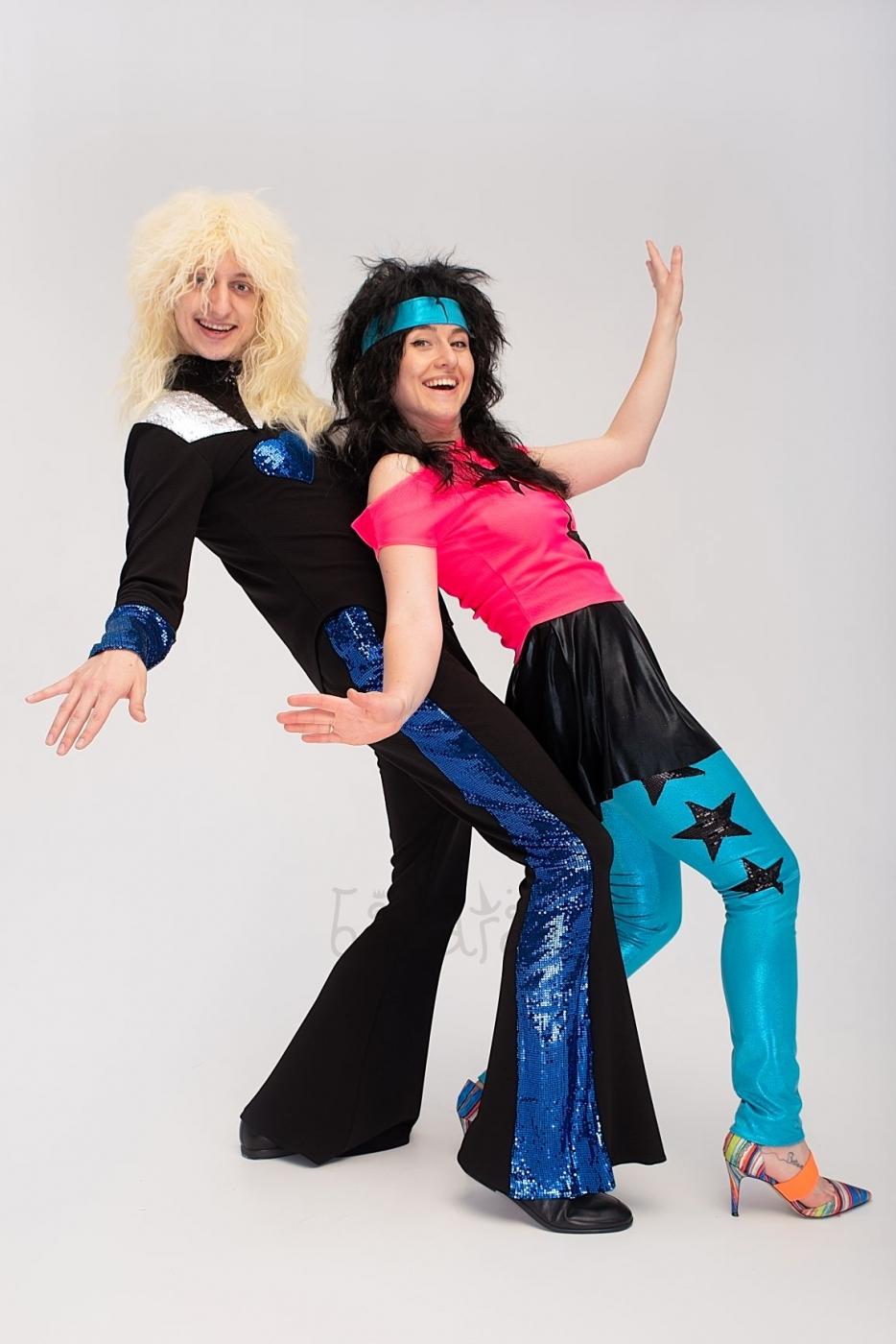 Костюм в стиле диско женский