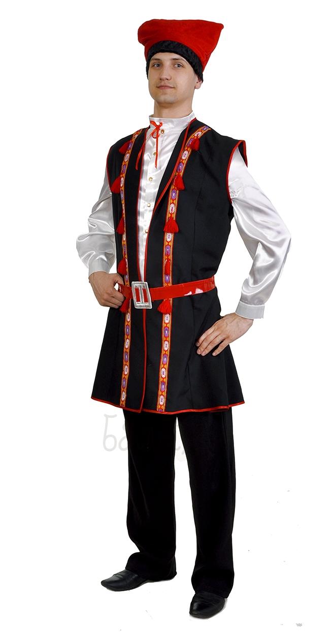 Костюм гуцульский мужской