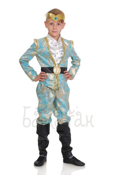 Elven Prince costume for little boy with crown
