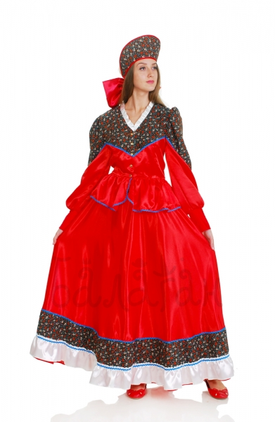Quadrille Donskoy square dance costume for woman