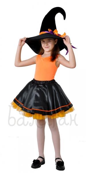 Костюм ведьмочки с юбкой-пачкой