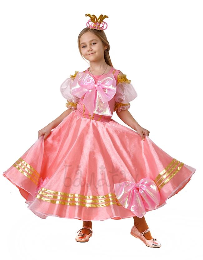 Костюм принцессы с бантами