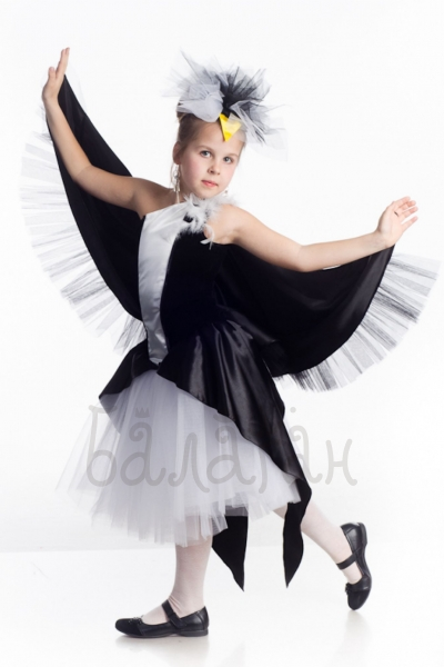 Swallow bird costume for little girl kids party dress