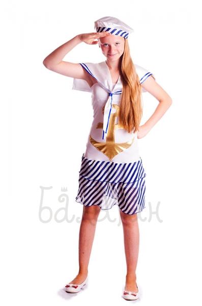 Костюм морской подростковый